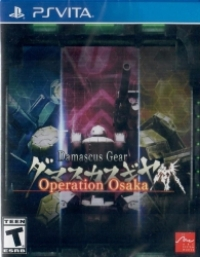 Damascus Gear: Operation Osaka Box Art