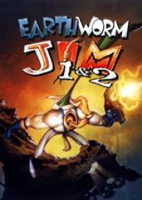 Earthworm Jim 1 & 2 Box Art