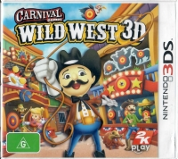Carnival Games: Wild West 3D Box Art