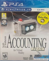 Accounting + (headset cover) Box Art