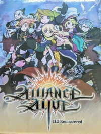 Alliance Alive HD Remastered, The - Limited Edition Box Art