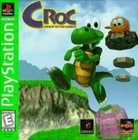 Croc: Legend of the Gobbos - Greatest Hits (white ESRB) Box Art