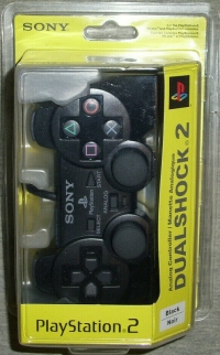 Sony PlayStation 2 DualShock 2 Analog Controller - Black Box Art