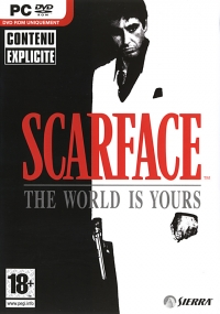 Scarface: The World Is Yours [FR] Box Art