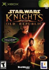 Star Wars: Knights of the Old Republic Box Art