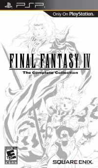 Final Fantasy IV: The Complete Collection Box Art