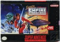Super Star Wars: The Empire Strikes Back (JVC) Box Art