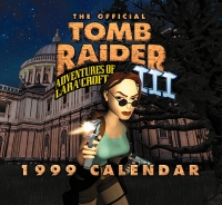 The Official Tomb Raider III 1999 Calendar Box Art