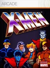 X-Men: The Arcade Game Box Art