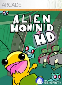 Alien Hominid HD Box Art