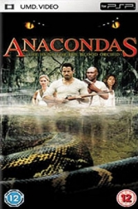 Anacondas: The Hunt For The Blood Orchid Box Art