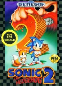 Sonic the Hedgehog 2 (Not for Resale) Box Art