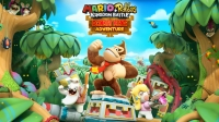 Mario + Rabbids Kingdom Battle - Donkey Kong Adventure Box Art