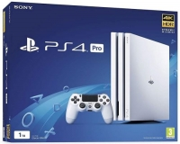 Sony PlayStation 4 Pro CUH-7116B Glacier White Box Art