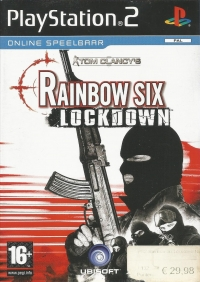 Tom Clancy's Rainbow Six: Lockdown [NL] Box Art