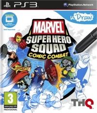 uDraw Marvel Super Hero Squad Comic Combat Box Art
