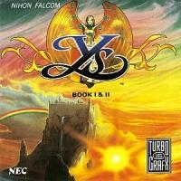 Ys Book I & II (TurboDuo Label) Box Art