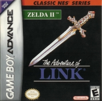 Zelda II: The Adventure of Link - Classic NES Series Box Art