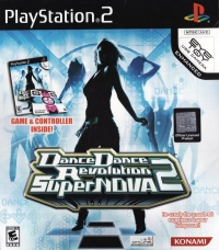 Dance Dance Revolution SuperNOVA 2 (Game & Controller Inside) [NA] Box Art