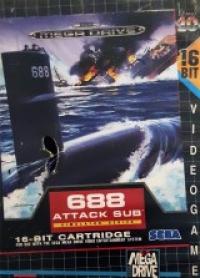688 Attack Sub [SE] Box Art