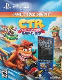 Crash Team Racing: Nitro-Fueled Game & Sock Bundle Box Art