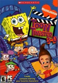 Nickelodeon Toon Twister 3-D Box Art
