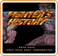 Johnny Turbo's Arcade: Fighter's History Box Art