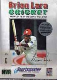 Brian Lara Cricket Box Art