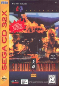 Supreme Warrior Box Art