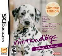 Nintendogs: Dalmatian & Friends - Limited Edition Box Art