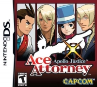 Ace Attorney: Apollo Justice Box Art