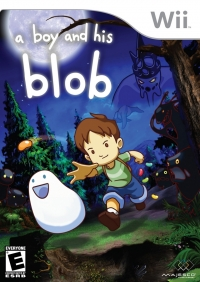 Boy and His Blob, A Box Art