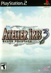 Atelier Iris 3: Grand Phantasm Box Art