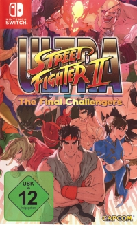 Ultra Street Fighter II: The Final Challengers [DE] Box Art