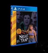Night Trap (yellow cover) Box Art