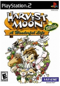 Harvest Moon: A Wonderful Life - Special Edition Box Art