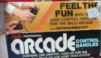 Bally Professional Arcade Control Handles Box Art