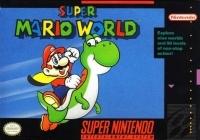 Super Mario World (single lined text) Box Art