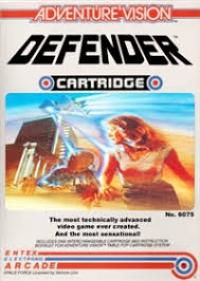 Adventure Vision - Defender Box Art