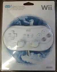 Wii Classic Controller [NA] Box Art