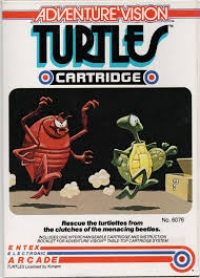 Adventure Vision - Turtles Box Art