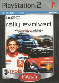 WRC: Rally Evolved - Platinum [NL][FR] Box Art
