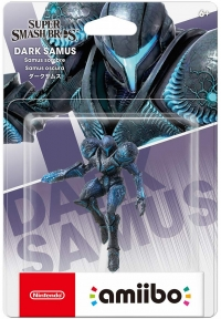 Dark Samus - Super Smash Bros. Box Art