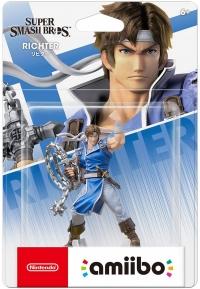 Richter - Super Smash Bros. Box Art