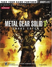 Metal Gear Solid 3: Snake Eater - Official Strategy Guide Box Art