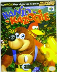 Banjo-Kazooie - Nintendo Official Player's Guide Box Art