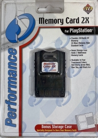 Performance Memory Card 2X (Black Ice) Box Art