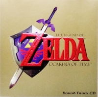 Legend of Zelda, The: Ocarina of Time Sound Track CD Box Art
