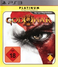 God of War III - Platinum [DE] Box Art