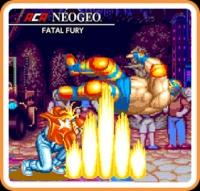 ACA NeoGeo: Fatal Fury Box Art